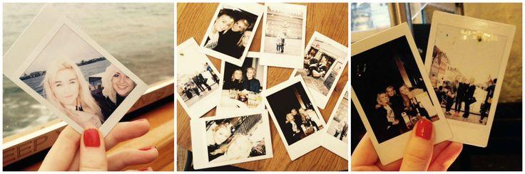 Taking Polaroids with friends in Copenhagen...I <3 Polaroid pictures!