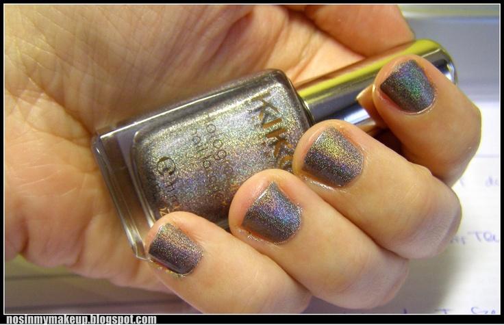 NOSINMYMAKEUP: Esmalte del día: Holográfico de KIKO nº 400