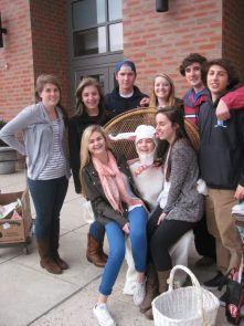 Egg Hunt at Darien High School: April 3, 2014!