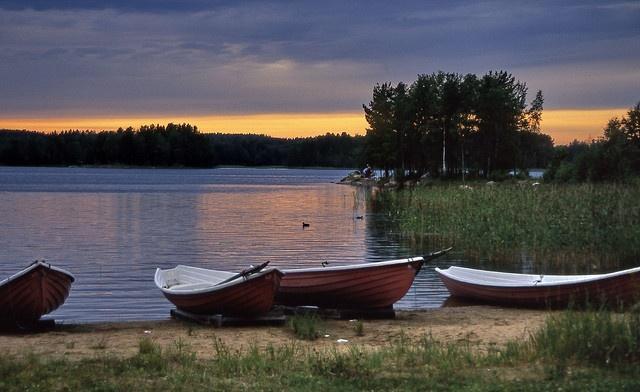 Savonlinna, Finland - Sunset by Lucio José Martínez González, via Flickr