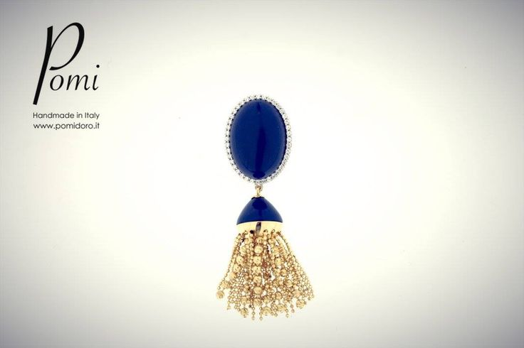 Hairy Earring - Pomi Gold Collection -- www.pomidoro.it