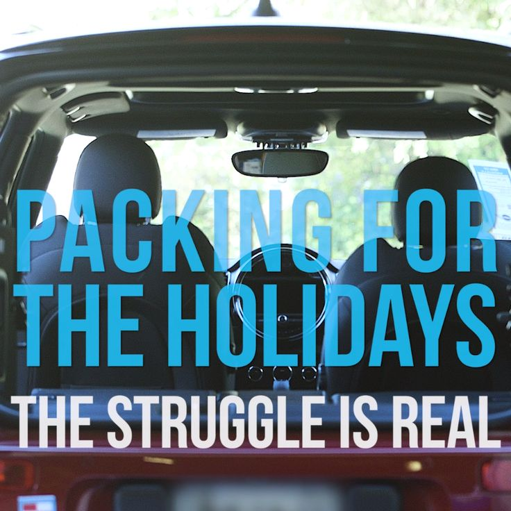 How to Pack your Car for your Holiday Road Trip like a Boss