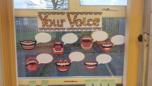 Girfec Childs Voice Classroom Display