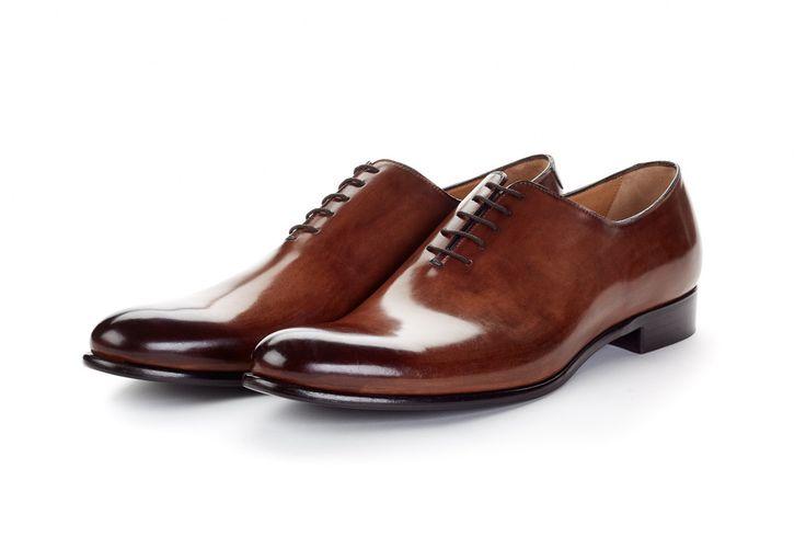 The Martin Wholecut Modern Oxford Shoes | Paul Evans