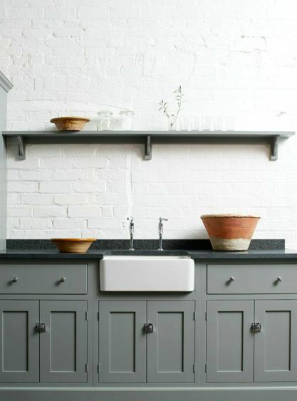 The new Loft Shaker kitchen from deVOL. For more kitchen inspiration, visit www.thehousedirectory.com