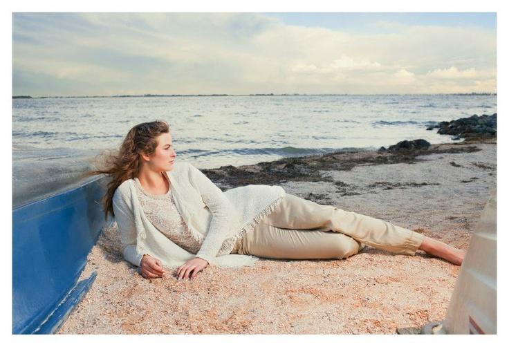 Ook zandkleuren blijven mooi in de zomer van 2013