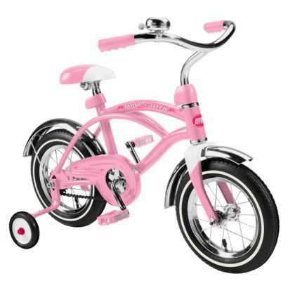 Radio Flyer Kids Cruiser - Pink 12''  For the little Princess' birthday this month?  $107.09 online at Target