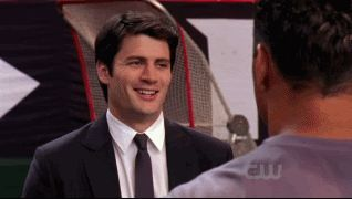 one tree hill nathan scott suit smile gif