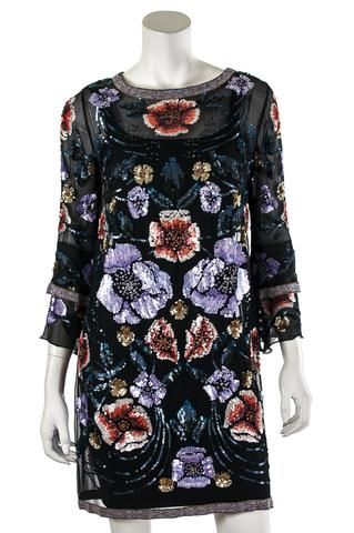 Matthew Williamson beaded dress   OWN THE COUTURE   Canada's luxury designer consignment online boutique