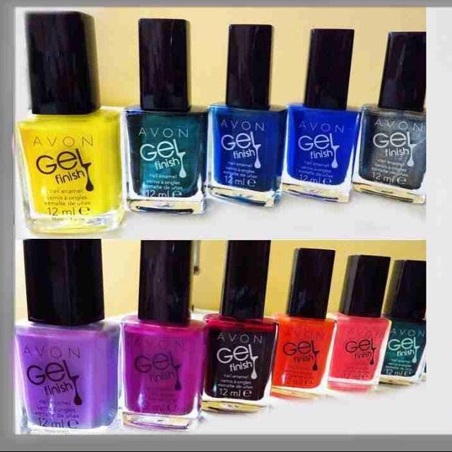 Myth: you can only get a shiny gel mani at a salon. Truth: now you can get a shiny gel look at home without the need for UV light, with Gel-Finish 7-in-1 enamel. Order @ www.YourAvon.com/Nondas #Avon #avonrep #avononline #avonoutlet #avonclearance #avonbeautyinsider #mani #pedi #gel #enamel #nails #trendy