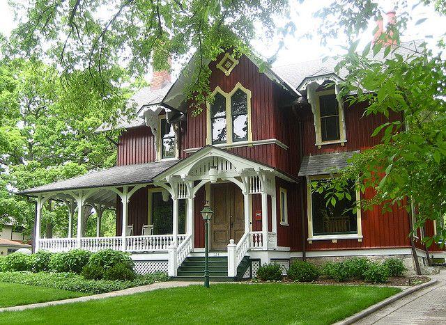 L.Y. Schermerhorn House, 1869 (Riverside, Illinois, United States)