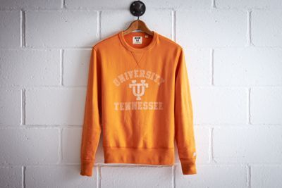 Tailgate Men's Tennessee Crew Sweatshirt by  American Eagle Outfitters | Better come prepared to Neyland Stadium. The Volunteers have an all-time winning record of 447 games, the most home wins in college football history. Shop the Tailgate Men's Tennessee Crew Sweatshirt and check out more at AE.com.