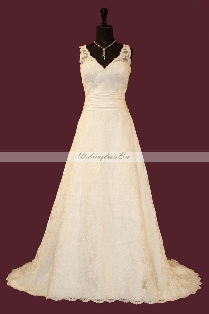 Lace: Dresses Wedding, Destinations Wedding Dresses, Wedding Dressses, Lace Wedding Dresses, Cheap Wedding Dress, Bridal Gowns, Summer Wedding Dresses, V Neck Lace, Lace Gowns