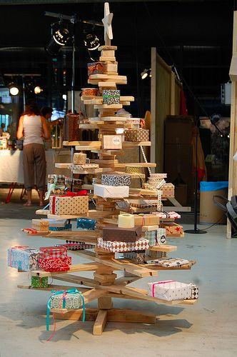 onze kerstboom tijdens 2e editie showUP Amsterdam!