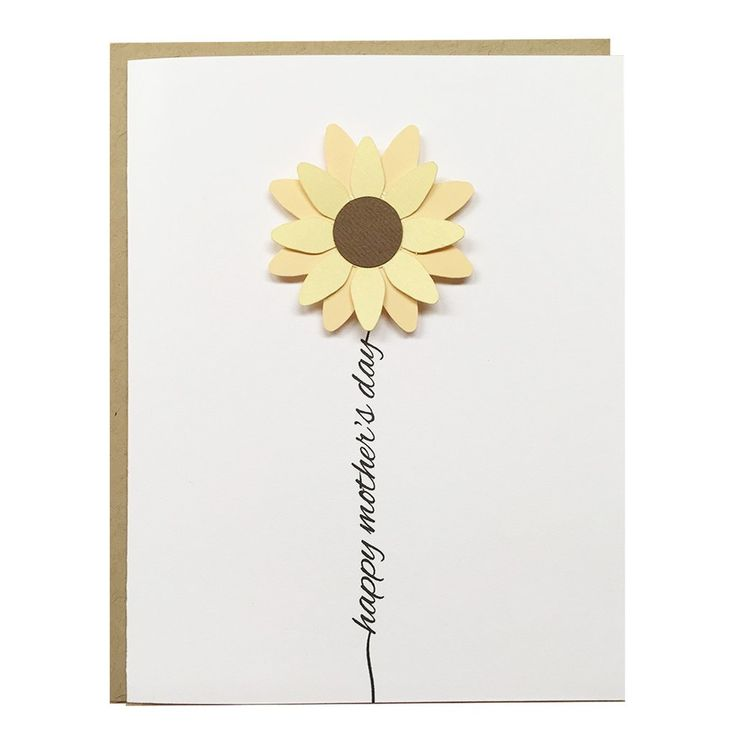 A simple and cute Mother's Day Card to take the guessing out of picking a card. This card is perfect for your mom, your grandmom, or any special mother in your life. • CARD: folded - 4.25in x 5.5in •