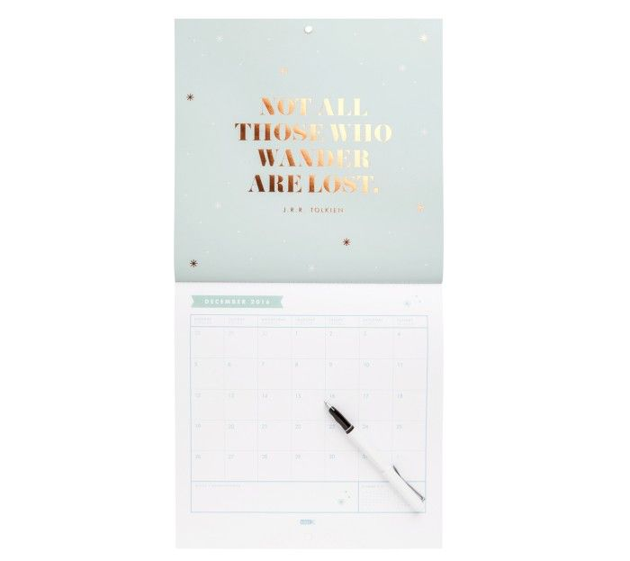 2016 MONTHLY WALL CALENDAR: INSPIRE