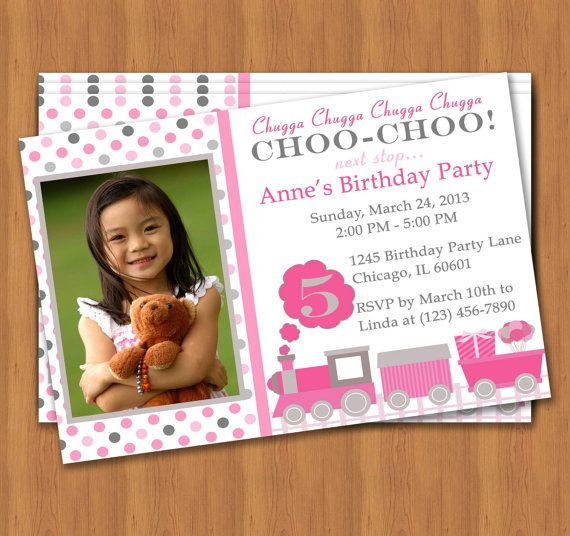 17 best Kids Birthday Invitations \ More images on Pinterest - how to make a birthday invitation on microsoft word