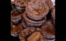 Världens godaste chokladmuffins.