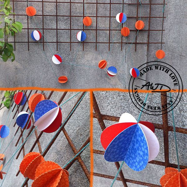 Hup Holland Slinger   printable van Anja Wens Designs   leuk voor Koningsdag   perfect voor voetbal suppporters   #WK2014