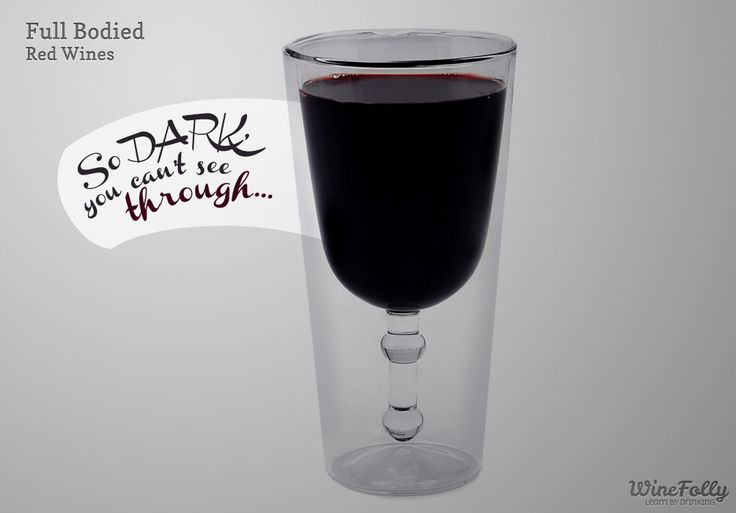 """Find out what makes red wines be """"Full Bodied"""" so you'll know what to look for!"""