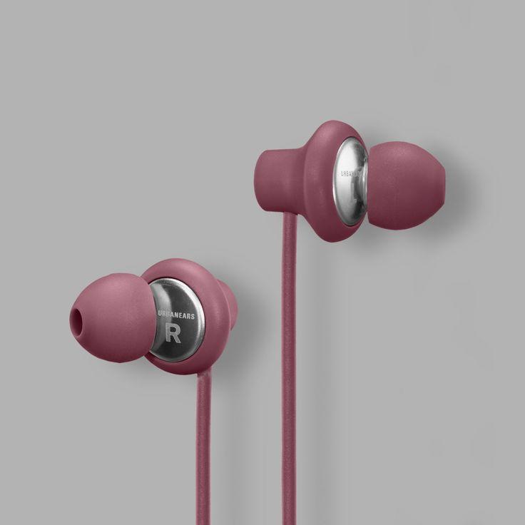 Urbanears Kransen Headphones in Mulberry