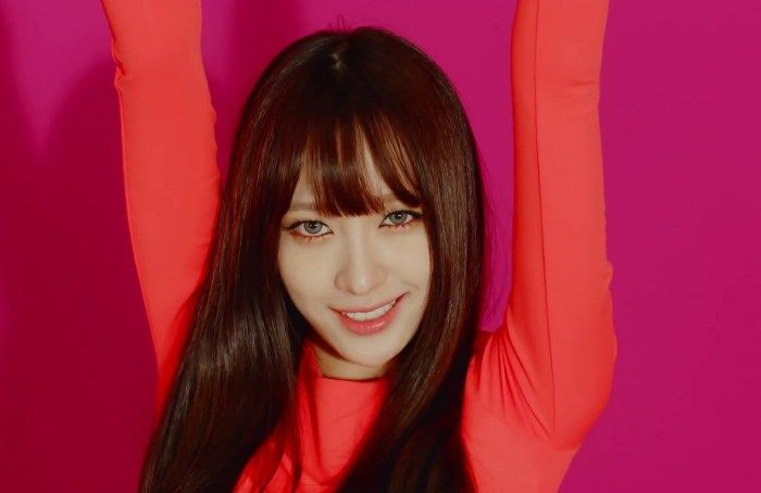 Hani, is a South Korean idol singer and television personality. She is known as a member of the South Korean girl group EXID and its subgroup, Dasoni.