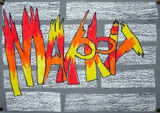 Tekenen en zo: Gave graffiti
