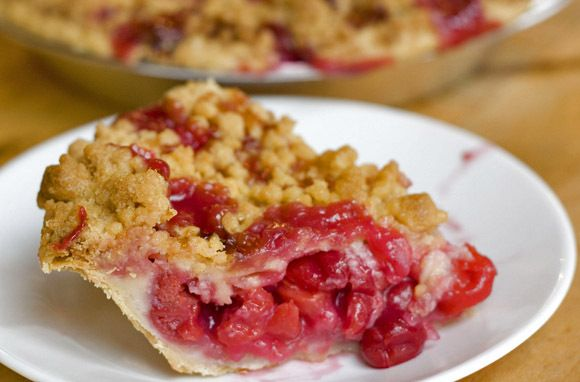 Cherry Crumb Pie, Grand Traverse Pie Company, Traverse City, Michigan (The BEST pies I've ever had in my life!!!)