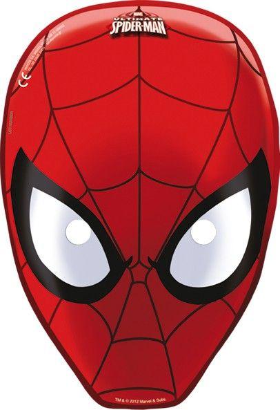 Perfekt Partymasken Ultimate Spiderman