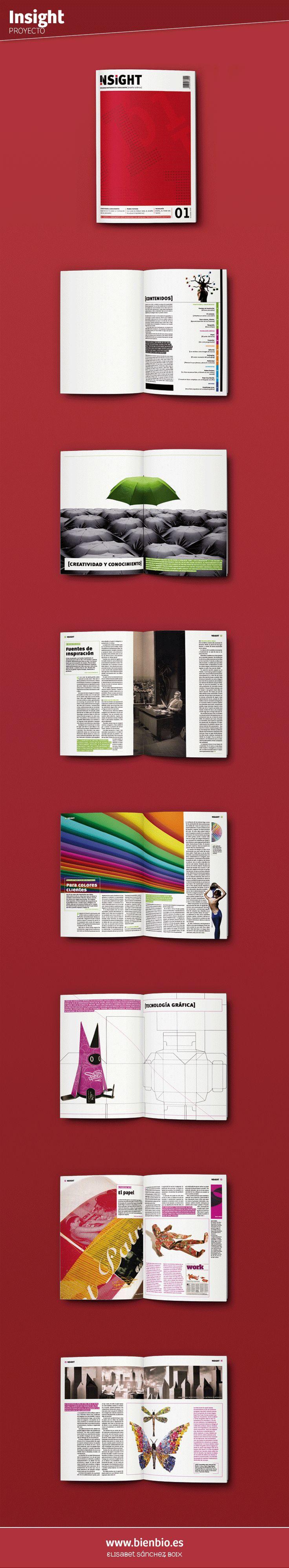 elaboracin de una revista de diseo grfico en la de publicidad y relaciones