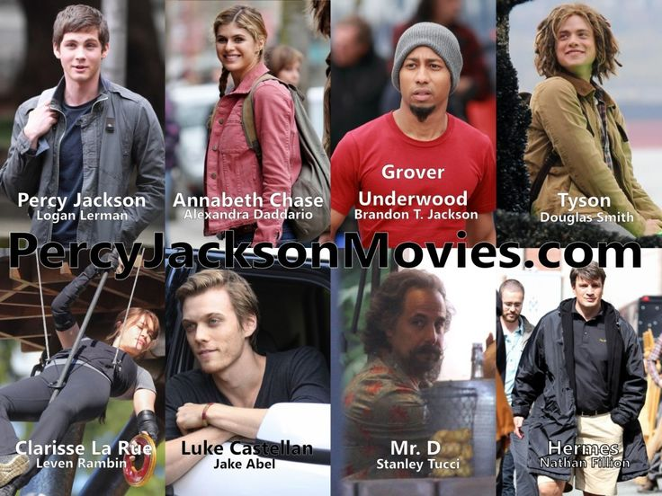 Sea of Monsters Cast!! Sooooo excited cant wait for this to come out!!