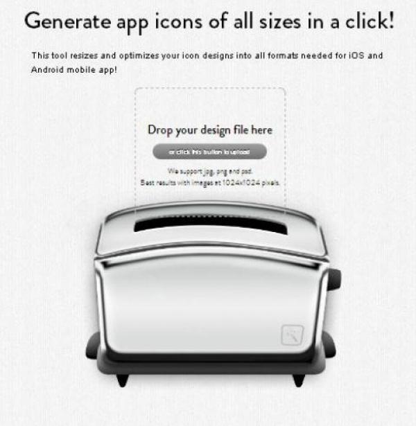 Générer des icônes pour Application facilement - Makeappicon - http://twit.lu/ml