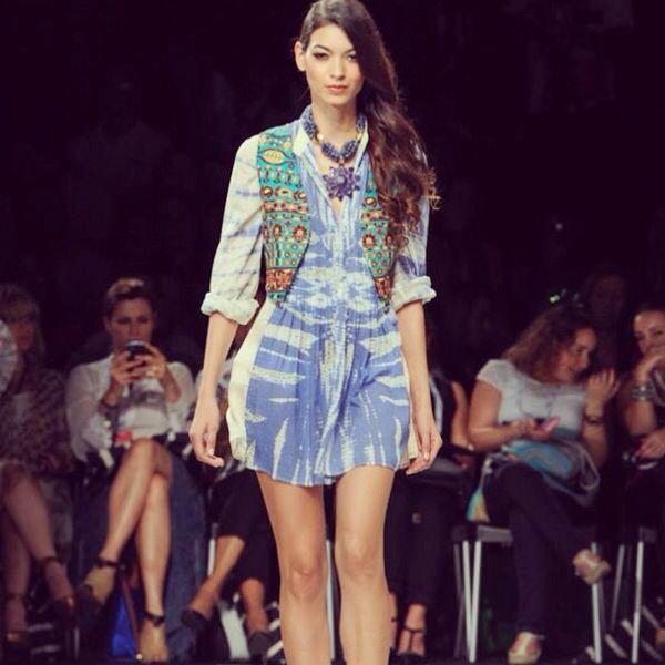 OndaDeMar colombiamoda 2014 #fashiontextures #swimwear #summer #camaralucida #chic #summer #beachy #ondademar