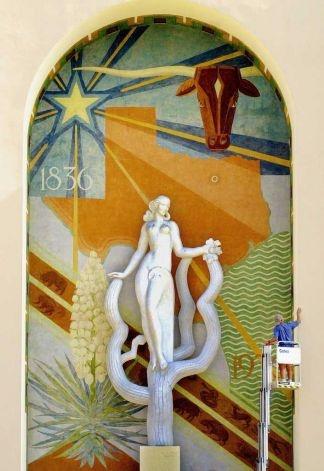 Art Deco, Women's Museum, Dallas, Texas, Fair Park