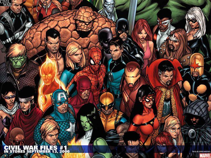 marvel civil war marvel civil wars