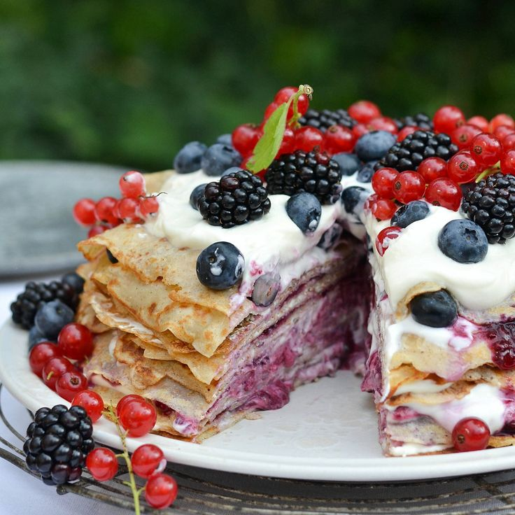 Nordic Pancake Cake From Josephine of A Tasty LoveStory - Home - Pastry Affair: