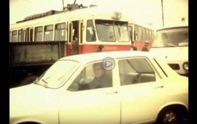Cum arătau problemele de trafic din București în anii '70 | VIDEO