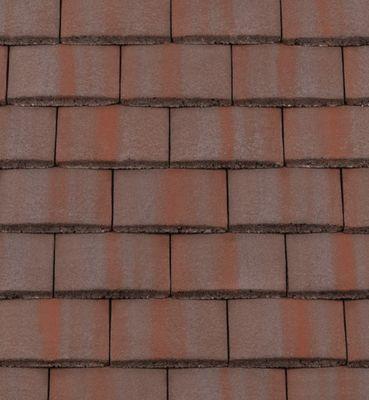 Breckland Brown Roof Tiles. Concrete Plain Tiles