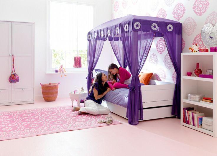 BADROOM - letto a baldacchino per ragazze