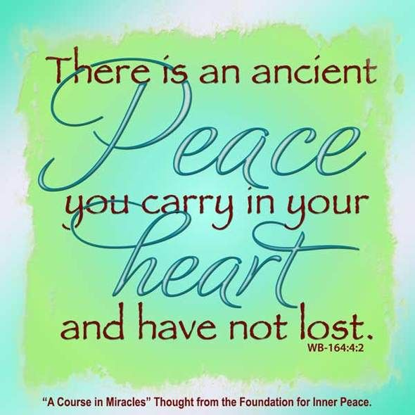 Image result for ACIM peace quote pics