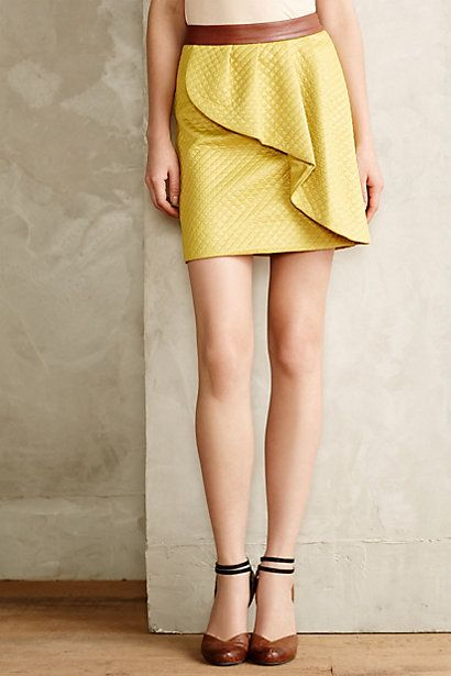Tulip Ruffle Skirt #anthrofave