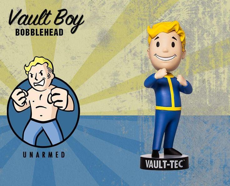 Figurine Fallout Vault Boy Poing De Fer - Séries 2 - Acheter vendre sur Référence Gaming