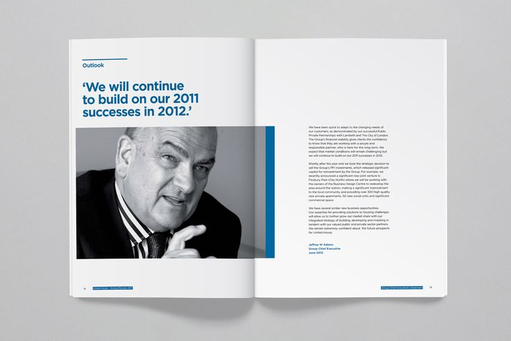 United House - Annual Report - Photography