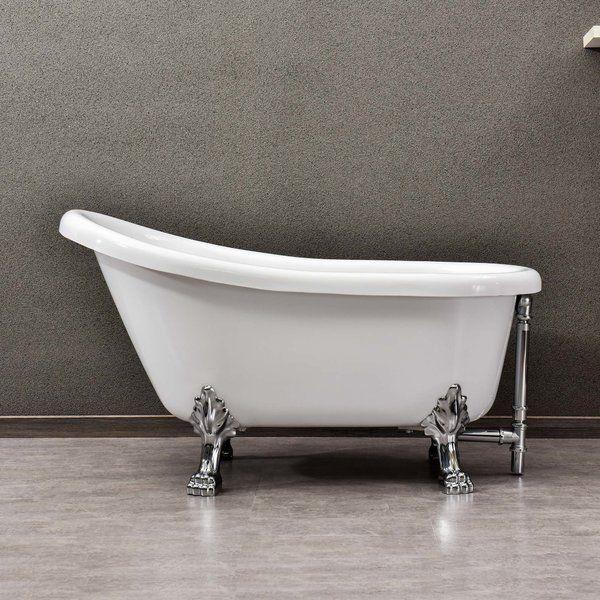 54 X 31 Soaking Bathtub In 2020 Clawfoot Bathtub Soaking
