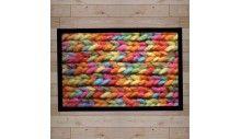 paillasson tricot couleur