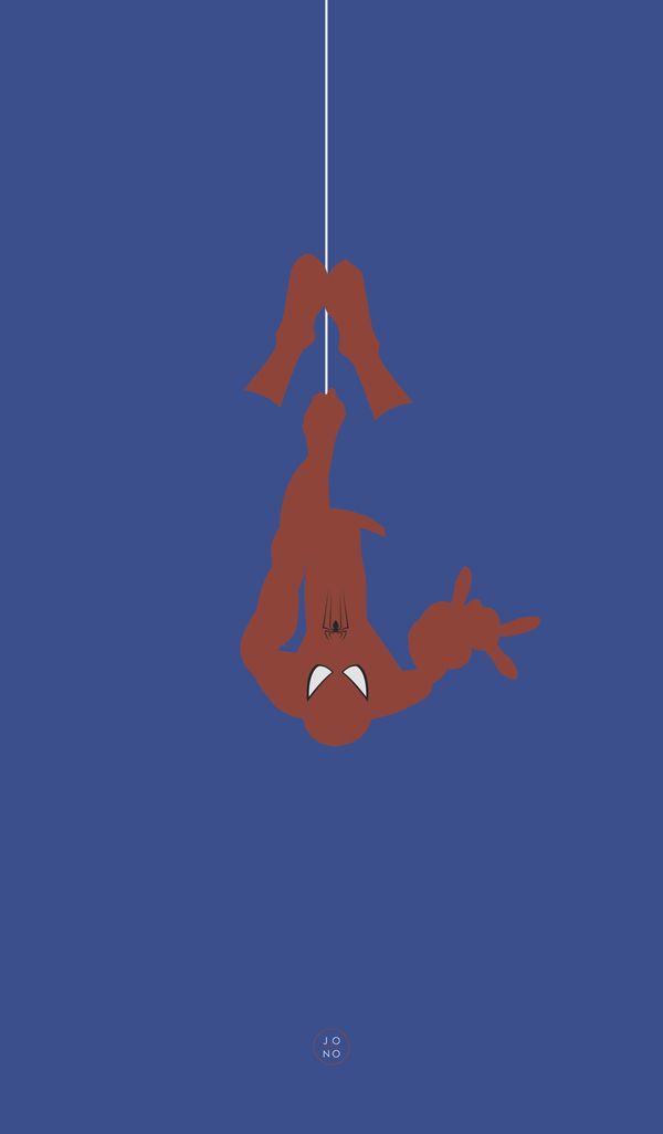 Marvel Soloist Fan Posters (Spider-Man) /// by Jonathan Mahoney, via Behance