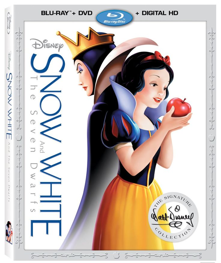 Snow White And The Seven Dwarfs Releasing On Blu-Ray #SnowWhite