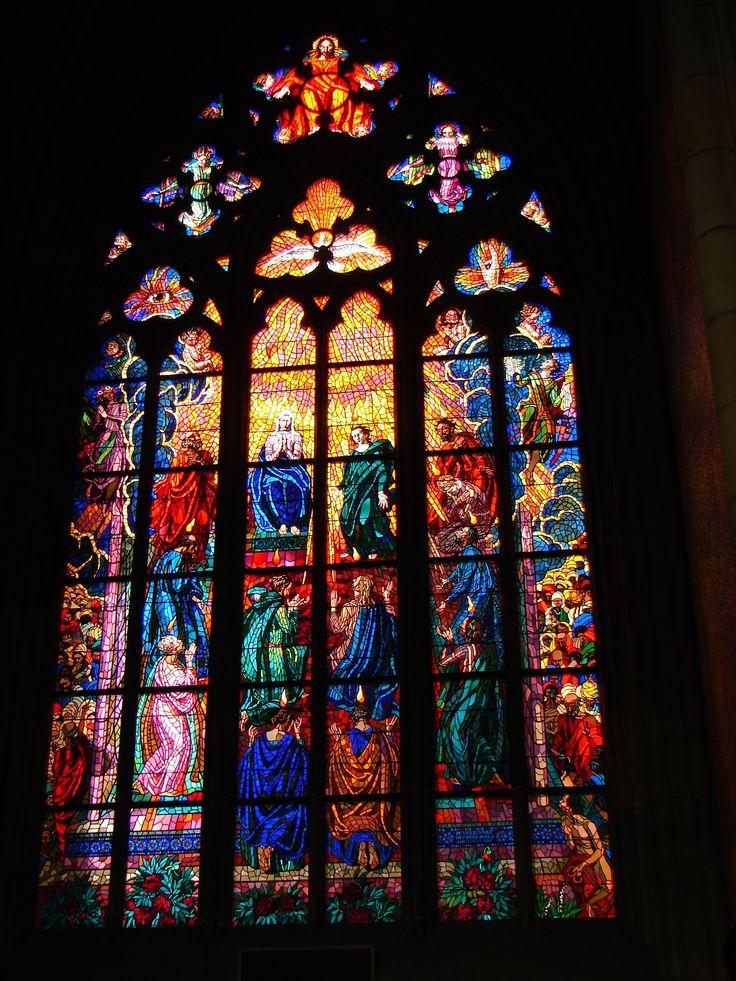 St. Vitus Cathedral in Prague, Czech Republic / Tjflex2, Flickr
