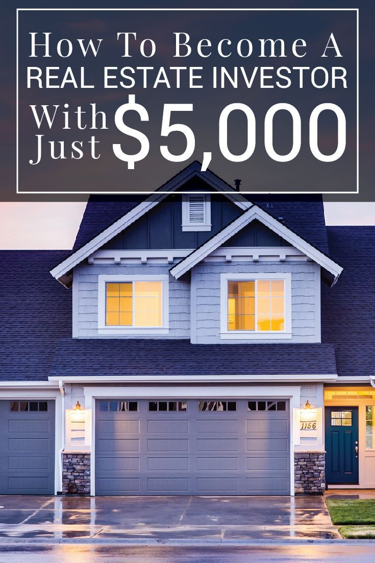 It's possible to get started investing in real estate with just $5,000. Here's how to get started as a real estate investor.