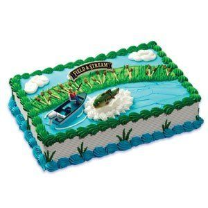Bass Fishing Cake Toppers